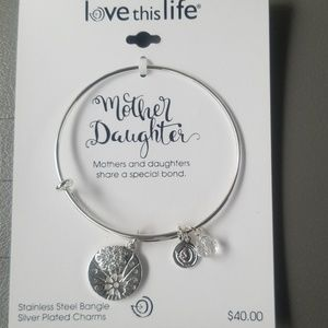 Jewelry - Love this life bangle